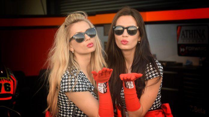 paddock girl qatar 2015
