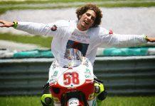 Marco Simoncelli vittoria Sepang 2008