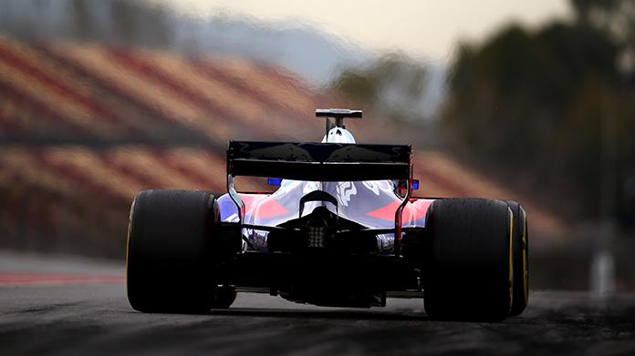 TEST F1 BARCELLONA