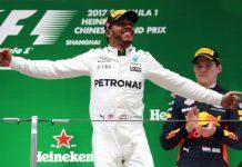 Lewis Hamilton Cina