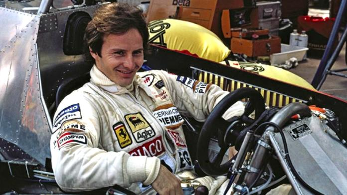 Gilles Villeneuve sfida jet