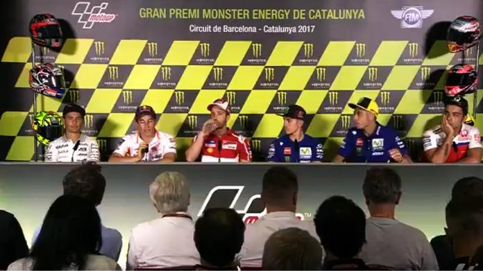 MotoGP Barcellona conferenza