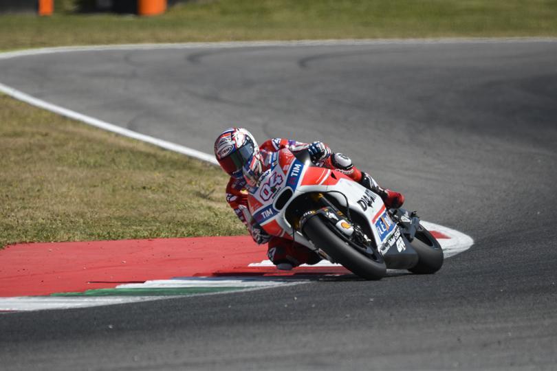 MotoGP, 'Cucchiaio' di Rossi nella FP3 al Mugello