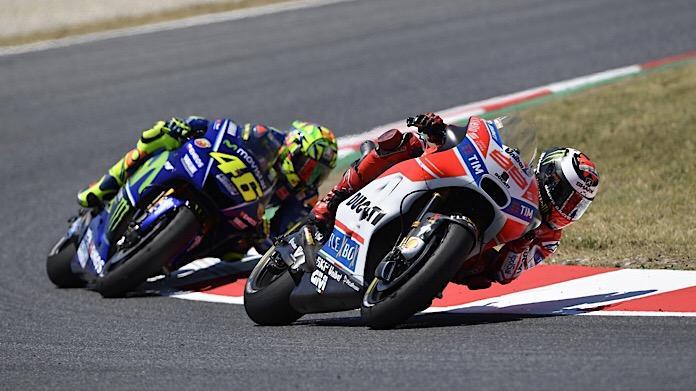 Rossi-Lorenzo Barcellona