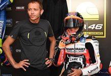 Valentino Rossi e Luca Marini