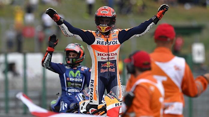 Marc Marquez vittoria Brno