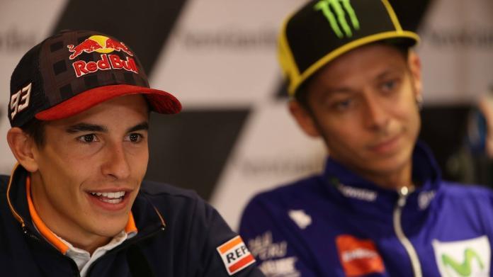 Gp Aragon. Vince Marquez su Pedrosa e Lorenzo, Rossi ottimo quinto