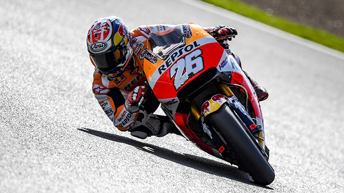MotoGp: pole a Pedrosa, Dovizioso terzo