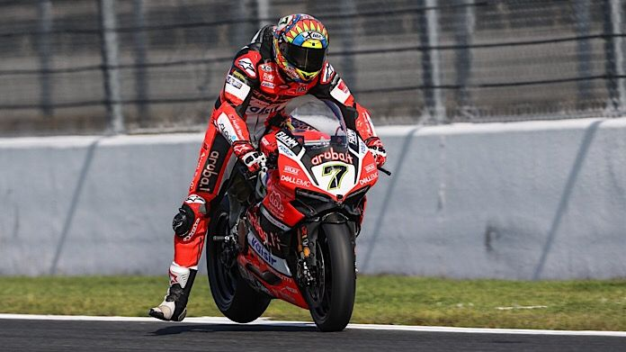 Chaz Davies Magny-Cours