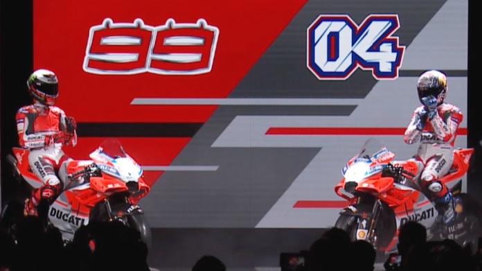 Presentazione Ducati Team 2018