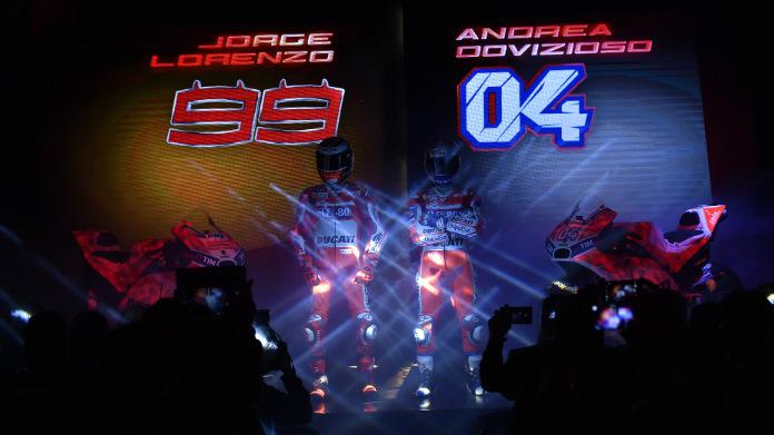 Presentazione Ducati Team