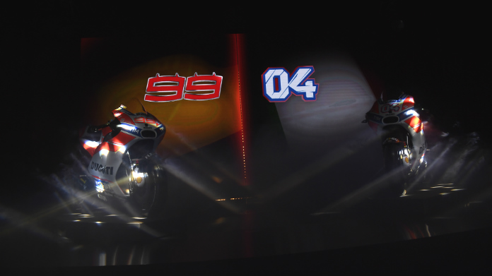 Ducati MotoGP Launch