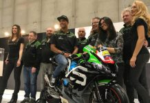 Yonny Hernandez ed il Team Pedercini Racing