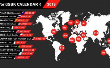 calendario superbike 2018