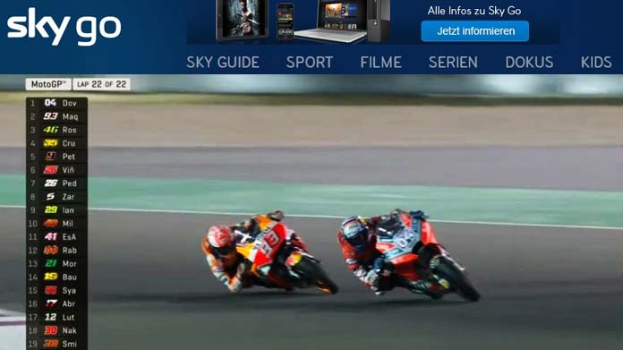 motogp streaming skygo