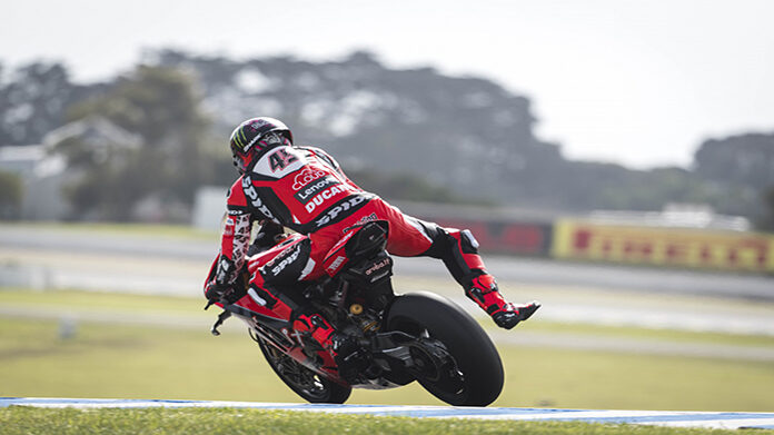 Scott Redding Test AUS SBK 2020