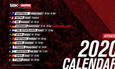 SBK calendario aggiornato 07 maggio 2020