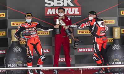 Podio Jerez SBK gara 2