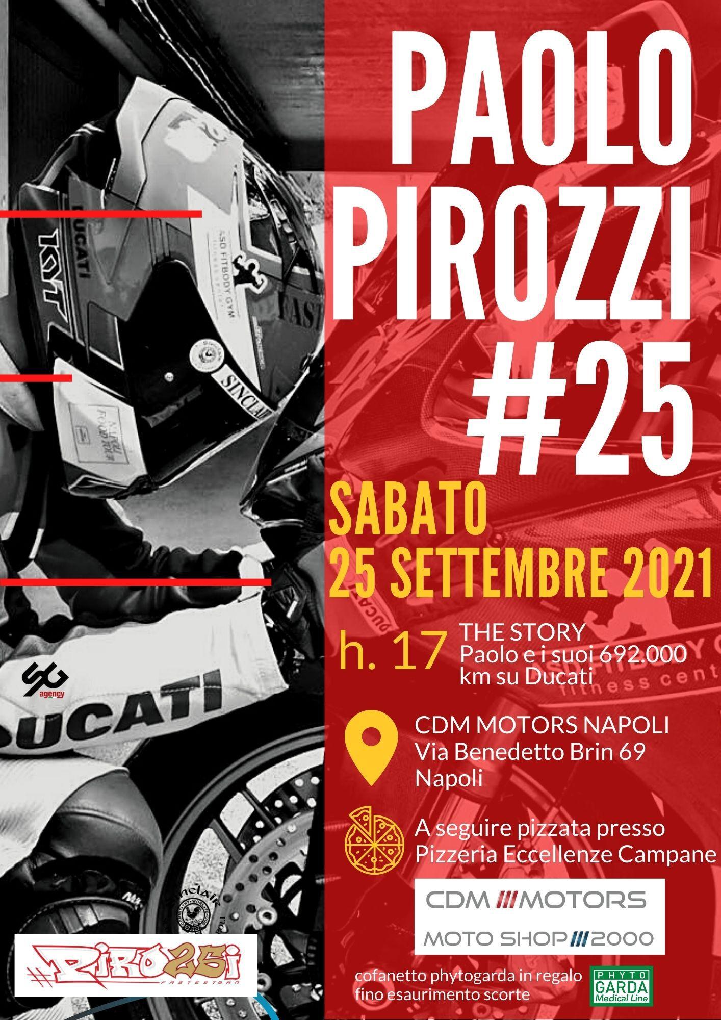 Locandina Paolo Pirozzi Celebrazione 25